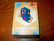 Wendy's Creative Crates 2016 Puppet Crate Kids Meal Toy NIP
