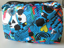 LeSportsac Extra Large Rectangular Cosmetic Bag - Psyched Print - New