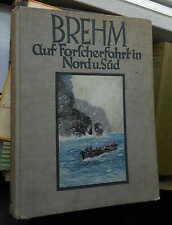 A.E. Brehm: su ricercatori viaggio in Nord e Sud esperienze negli esseri umani e animali