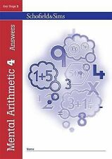 Mental Arithmetic Book 4 (Book 5 of 7): Key Stage 2, Years 3 - 6 (Answer book),
