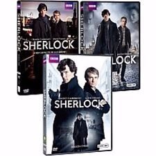 BBC Sherlock Seasons 1-3 Region 1 DVDs Benedict Cumberbatch / Martin Freeman