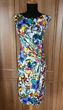 "Phase Eight ""Jewel Print"" Dress - Size 14"