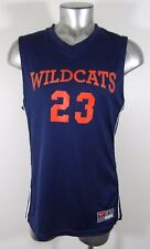 NIKE Arizona Wildcats Basketball men's athletic jersey blue L