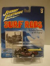 Johnny Lightning Surf Rods Wave Rockers 1955 Chevy Pickup 1:64 Diecast C18-36