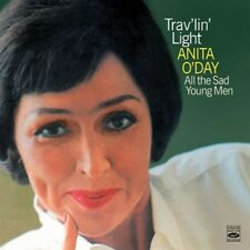 Anita O'Day: TRAV'LIN LIGHT + ALL THE SAD YOUNG MEN (2 LPS ON 1 CD)