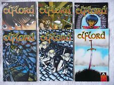 ELFLORD • mixed lot of six comics • #6 to #31 (Aircel 1986-89) • Mint!