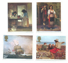 Jersey paintings set 1971 mnh