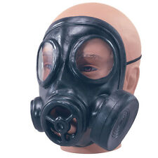 GAS MASK RUBBER FANCY DRESS ACCESSORY
