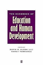The Handbook of Education and Human Development: New Models of Learning, Teachin
