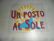 ERREA UN POSTO AL SOLE SPONSOR MAGLIA PARMA VS NAPOLI MAGLIETTA SHIRT JERSEY