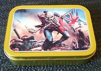 Iron Maiden-a- 1 and 2oz Tobacco/Storage Tin