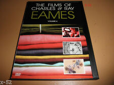 FILMS of CHARLES & RAY EAMES dvd volume 4 SX070 design Q&A ibm peep shows
