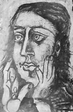 PICASSO - FEAR ! - ORIGINAL VERVE OFFSET LITHOGRAPH - FREE SHIP IN US!