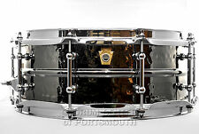 Ludwig Black Beauty Hammered Snare Drum w/ Tube Lugs 5x14 - LB416KT