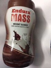 ENDURA MASS Chocolate WEIGHT GAIN 3480 Calories 500g FREE Shipping