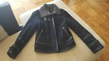 Cole haan Genuine shearling jacket  XS black