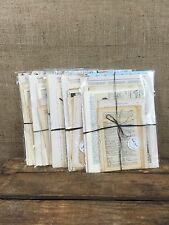 Vintage Papers Old Book Pages Packs for Decoupage Scrapbooking Paper Crafts