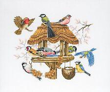 Anchor-contati Punto Croce Kit-Bird Table-apc942