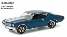 1:64 GreenLight *HOBBY EXCLUSIVE* Blue 1970 Chevelle SS 454 *TRADE SHOW PROMO*