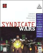 Syndicate Wars PC CD control cybernetically enhanced agents combat strategy game