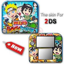 Naruto Shippuden NEW SKIN VINYL STICKER DECAL COVER for Nintendo 2DS