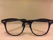 Vintage Thick Horned Rimmed Reading Glasses - 1950's