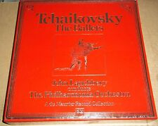 Lanchbery TCHAIKOVSKY The Ballets - HMV SLS 5273 SEALED