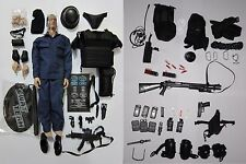 """1/6 Scale Hot 12"""" SWAT Assualter Elite Special Force Police Action Figure Toys"""