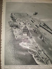 Photo article US Navy aircraft carrier USS Forrestal 1955 ref Z