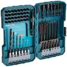 Makita 70-Piece Impact Drill-Driver Bit Set Professional Quality Black Oxide