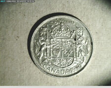 1945 Canada Half, .3000 oz  Silver, High Grade   (Can-297)