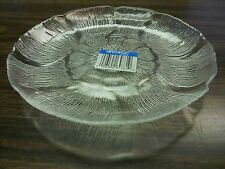 "7"" CLEAR ARCOROC GLASS SALAD PLATE ( SIX IN PACK )WEDDING FLORAL DESIGN/CATERING"