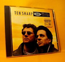 CD Ten Sharp The Fire Inside 10 TR 1993 Acoustic, Europop, Pop Rock, Ballad