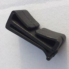 Nexus Webbing Strap Retainer 25mm Pack of 4 Black Plastic Webbing  (BLS25)