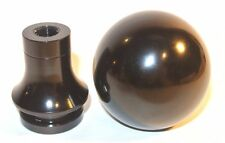 JDM Black Racing Shift Knob w/ Retainer M10x1.25 fits Mazda 3 Miata EVO MR MX5