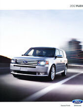 2012 FORD FLEX BROCHURE - getting scarce