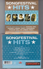 CD COLLECTOR MULTIMEDIA 5T + 1 VIDEO SONGFESTIVAL HITS SANDRA KIM/GALL/LEANDROS