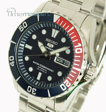 SEIKO 5 SPORTS MENS AUTOMATIC DIVER STYLE SNZF15K1