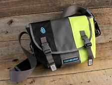 Timbuk2 Classic Messenger Bag Size Small Black, Dark Gray & Green Nwot