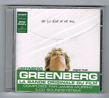 GREENBERG SOUNDTRACK - JAMES MURPHY (LCD SOUNDSYSTEM) - CD NEUF NEW