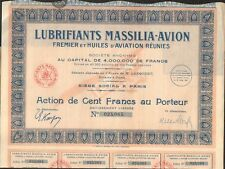 DECO =  Lubrifiants MASSILIA-AVION  (M)