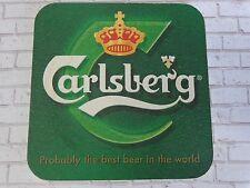 Beer Collectible Coaster <> CARLSBERG Brewing Co  <> Copenhagen Denmark <> 1895