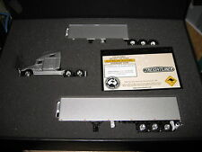 1:64 FREIGHTLINER  B-double REEFER SET SILVER Aussie Road Rigs ltd ed awesome