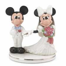 Lenox Disney Mickey & Minnie Mouse Wedding Cake Topper figurine - New & Mint!