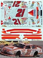 NASCAR DECAL #21 CITGO SUPERGARD 90's RETRO SCHEME 2000 FORD TAURUS E. SADLER