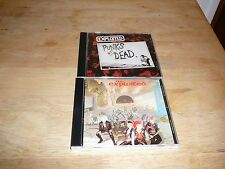 The Exploited 1st 2 Albums Punk's Not Dead Troops Of Tomorrow with Bonus Tracks