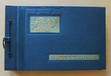 Vintage 1930s Photo Album 110 Photographs Travel Florida Cuba Cruise Ship Jewish
