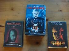 Hellraiser - Numbered Limited Edition in Metal Case w/2 Bonus DVD's