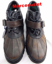 Polo Ralph Lauren Dover Boots 10.5D Brown Brown Black $90.00
