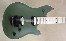 EVH Wolfgang Special Matte Army Drab Guitar with FU Tone Big Brass Block